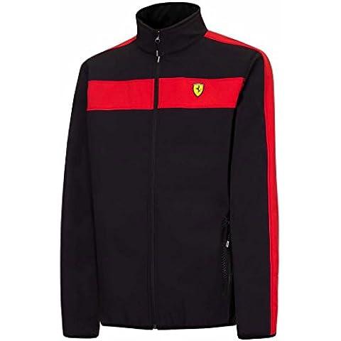 Scuderia Ferrari Formula 1Team da uomo Softshell giacca foderata in