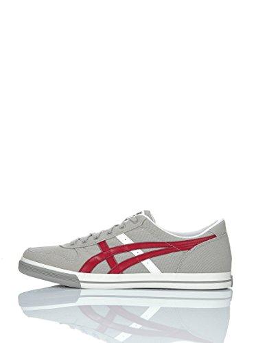 Onitsuka Tiger harley Aaron, Damen Sneaker grau bordeaux weiß harley Tiger ... 5647f8