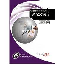 Cuaderno del Alumno Windows 7. Formación para el Empleo (Fpe Formacion Empleo (cep))