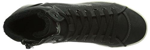 Dockers by Gerli 357110-133001, Baskets hautes mixte enfant Noir - Schwarz (schwarz  001)