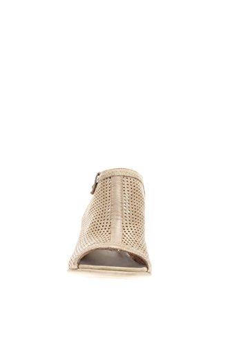 Nero Giardini Femme-Sandale P615661D 406 santal bande t.60 Perforée Beige - Tortora