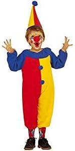 Widman - Disfraz de payaso de circo para niño, talla 3 - 4 años (3606W)