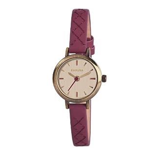 Kahuna KLS-0238L – Reloj analógico de Cuarzo para Mujer con Correa de Piel, Color Rojo