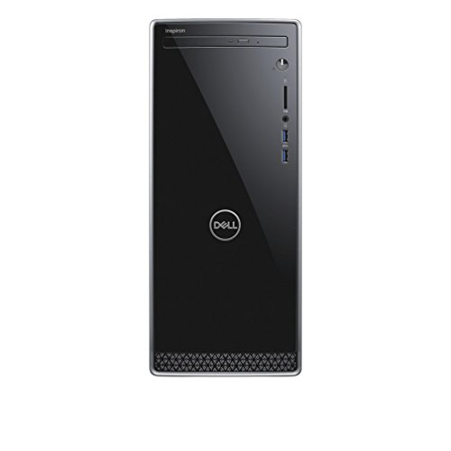 Dell Inspiron 3670 Unité Centrale Noir (Intel Core i3, 8Go de RAM, Disque Dur 1To, Intel HD Graphics, Windows 10)