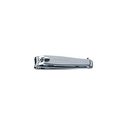BETER PHARMACY Coupes ongles Manucure avec lime à ongles en acier chromé - 5,8 cm