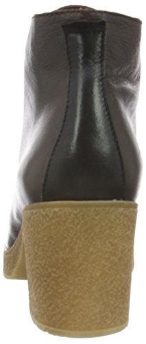 Hispanitas Praga, Bottes courtes avec doublure chaude femme Marron - Braun (Soho-I6 Brown Soho-I6 Black KENIA-I6 Topo)