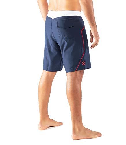 Virus-ST12-Bantam-Boardshort-Shorts-NavyWhite