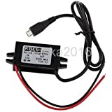 Alcoa Prime DC /DC 12V To 5V Micro USB Buck Step-Down Voltage Converter For Phone Car