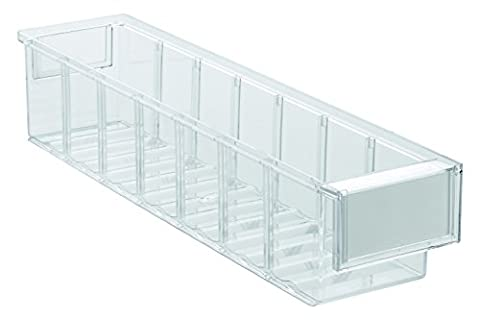 Tres Tone Drawer, Stackable, Wavy Base Exterior Dimensions (H x W x D): 9.2x 8.2x 40cm
