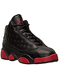 super popular 2f130 8ead1 NIKE Preshool Air Jordan Retro 13 XIII Dirty Bred Basketball 13c