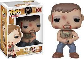 New the Walking Dead Injured Daryl Dixon Pop! Vinyl Figure Toy Action by Funko - Figure Action Dixon