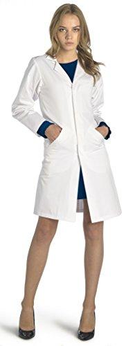 Dr. James Università Camice da Laboratorio da Donna 38 IT-02-C