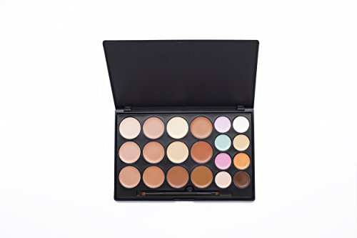 Blush Italie Make Up Set sourcils Palette 28 fard Nude Crayon Sourcils Crayon corrective Kit 3 x pochoir Pinceau