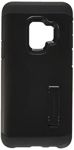 Spigen 592CS22846 Tough Armor Kompatibel mit Samsung Galaxy S9 Hülle, Doppelte Schutzschicht für Extrem Fallschutz Schutzhülle Case Black