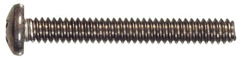 The Hillman Group 44123 10-24 x 3 Pan Head Phillips Machine Screws, Stainless Steel, 10-Pack by The Hillman
