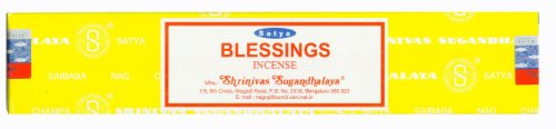 Satya Nag Champa bendiciones de incienso–15G unidades