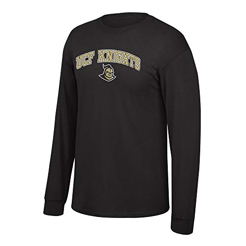 eLITe Fan Shop NCAA Long Sleeve Shirt Team Farbe Arch, Herren, NCAA Long Sleeve Shirt Team Color Arch, schwarz, Large (Dart Cover Board)
