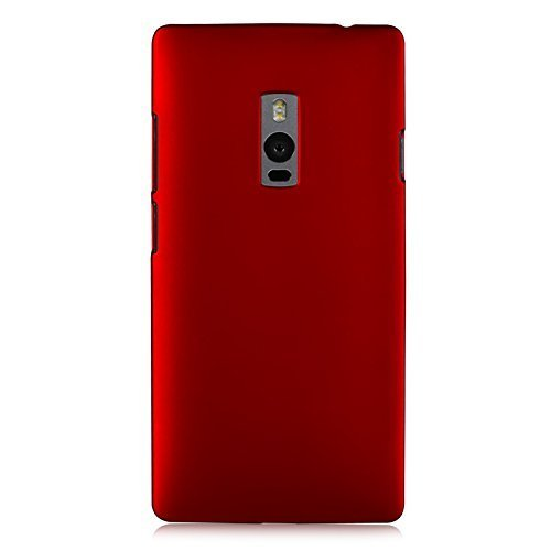 WOW Imagine(TM) Rubberised Matte Hard Case Back Cover For OnePlus Two 1+2 One Plus 2 (Maroon Wine Red)  available at amazon for Rs.145
