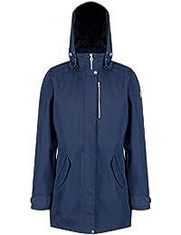 Regatta Tarnel Waterproof and Breathable Hooded Multi Pocket Shell Chaqueta, Hombre, Majolica Blue, Large amazon azul