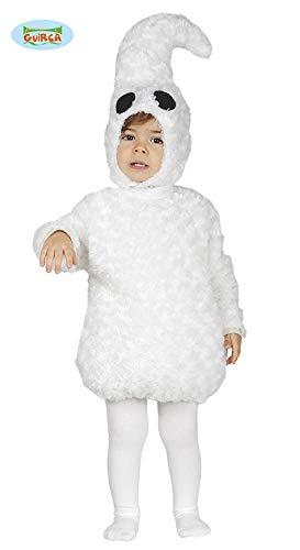 Halloween Baby Geist Kostüm - Baby Geisterkostüm Kostüm Geist für Kinder Gespenst Halloween Geister Gr. 86-98, Größe:86/92