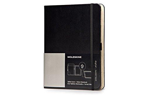 Moleskine Tasche für Apple iPad Air schwarz