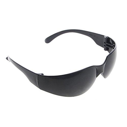 Jiamins Schutzbrille Schutzbrille Schutzbrillen Eyewear Dentallabor Arbeit PC Objektiv (Schwarz)