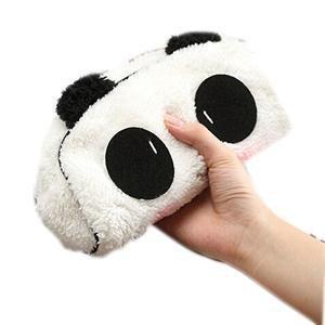 Generic kawaii Plüsch flauschig Panda Student Pen Bleistift Storage Bag Pouch Fall Pack Anhänger Cosmetics Tasche Coin Geldbörse (Abas-geldbörse)