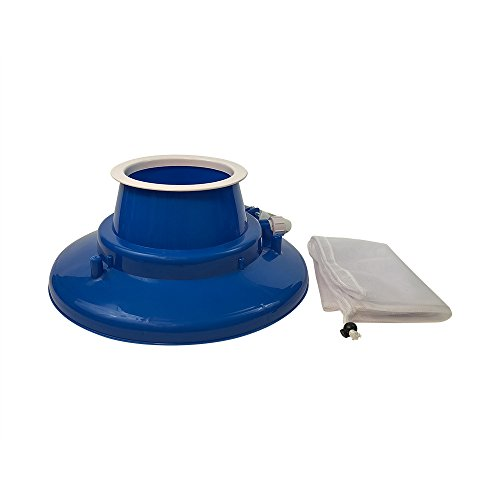 Puri Tech Leaf Gulper Drehbar Pool & Spa Vakuum W/Schmutz Tasche