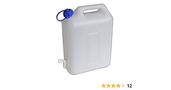 Behälter 20l Kanister Wasserkanister mit Auslaufhahn Wasserhahn Hahn Camping LKW