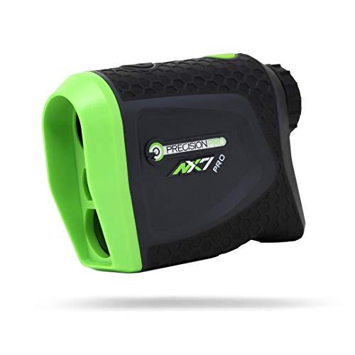 Medidor de distancia Precision Pro Golf NX7 Pro Rangefinder - Medidor de distancia para golf con modo Inclinación y Sin Inclinación - Perfecto accesorio para golf o como regalo para un golfista.