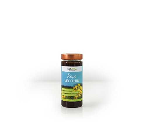 Raps Lecithin, flüssig, IVOVITAL®, allergenfreie Soja-Alternative (275 ml) -