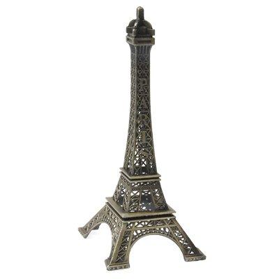 Peidong Haus Dekoration Novel Paris Eiffelturm Einrichtungsartikel Modell Fotografie Props Kreative Haushalt Geschenk (Größe: 25 x 10,5 cm)