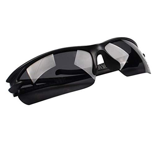 Sonnenbrille Damen Herren Klassische Polarisiert Retro Unisex Halbrahmen Sonnenbrille UV400 Sonnenbrille verspiegelt Brillen mit Etui