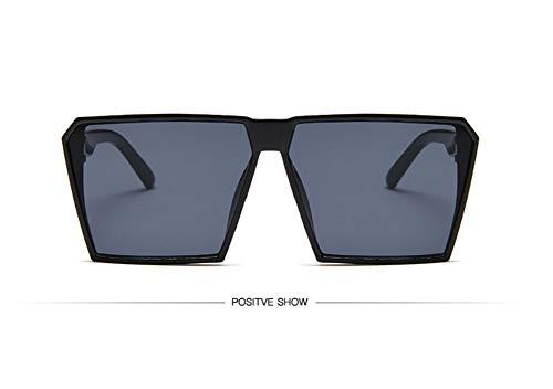 WSKPE Sonnenbrille,Sonnenbrille Mädchen Junge Kinder Sonnenbrille Mit Rechteckigem Rahmen Uv400 Brillen Fashion Kids Eyewear Schwarzen Rahmen Graue Linse