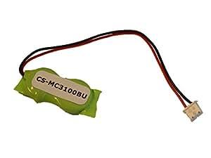 vhbw NiMH BIOS Batterie 20mAh (2.4V) Mobile Ordinateur de symbole MC3190rl4s12e0u, MC3190rl4s12e0W, MC3190de rl4s 24e0a, MC3190de RLMH 04e2a comme MC3100.