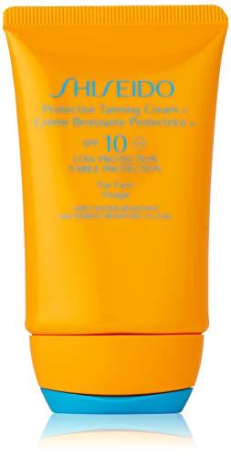 Shiseido Protective Tanning Cream N SPF 10 ( For Face ) - 50 ml