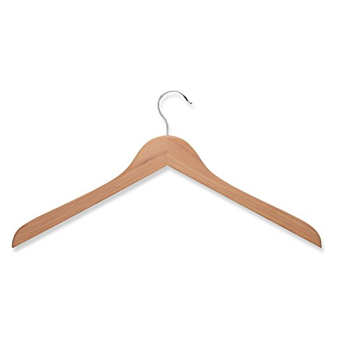 honey-can-do-hng-01534-wood-shirt-hanger-cedar-5-pack
