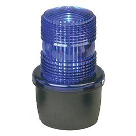 Low Profile Warning Light, Strobe, Blue by Federal Signal
