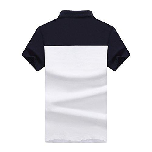 WALK-LEADER Herren Poloshirt Blau