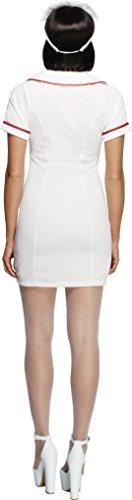 Imagen de smiffy's  disfraz de enfermera sexy para mujer, talla 40  42 22016m  alternativa