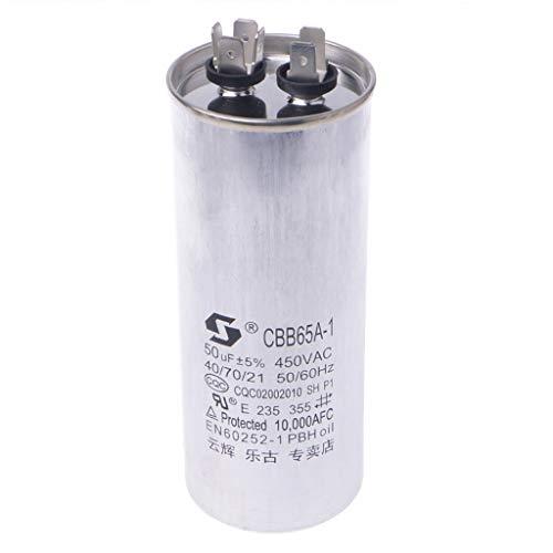 JimTw-UK 20-50uF CBB65 450V AC 50/60HZ Klimaanlage Kompressor Startkondensator -