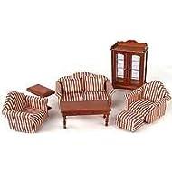 Dollhouse Miniature Seven Piece Living Room Furniture Set by Melissa & Doug by Melissa & Doug Inc.