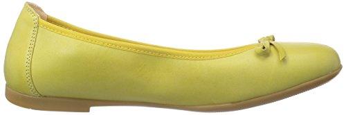 YoVoY  Ballerina, Ballerines fermées fille Jaune - Gelb (amarillo/limon)