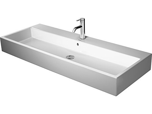 Duravit lavabo Vero Air 1200mm, blanco sin orificio para grifo lijada, WG, 23501200281