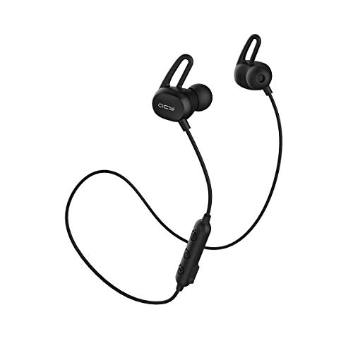 QCY E2 Sport Bluetooth Earphone (Black) Bluetooth Headsets at amazon
