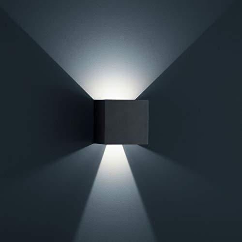 Helestra LED Downlight Siri 44-L Mattschwarz IP54 | LEDs fest verbaut 6W 950lm warmweiß | A28442.93