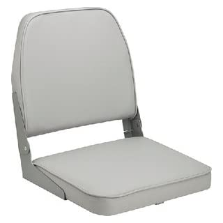 Attwood Boat Seat, Gray