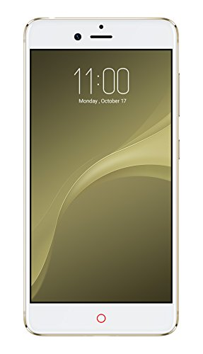 Nubia NX549J Z11 mini S Smartphone (Dual SIM, 64GB Speicher, 4GB RAM, 23MP, Android OS, v6.0 (Marshmallow), 13,2 cm (5,2 Zoll)) moon gold