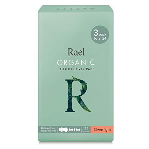 Rael Compresas de 100% algodón ecológico