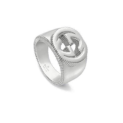 Gucci Ring mit GG Detail in Silber, grssen 16 YBC479229001
